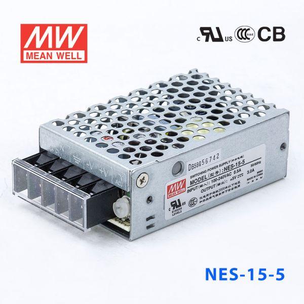 NES-15 15W 5/12/15/24/48V 单路输出