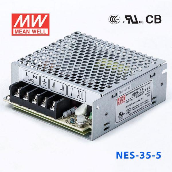 NES-35 35W 5/12/15/24/48V单路输出