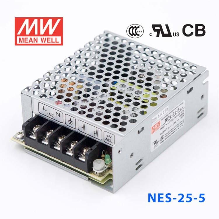 NES-25 25W 5/12/15/24/48V单路输出