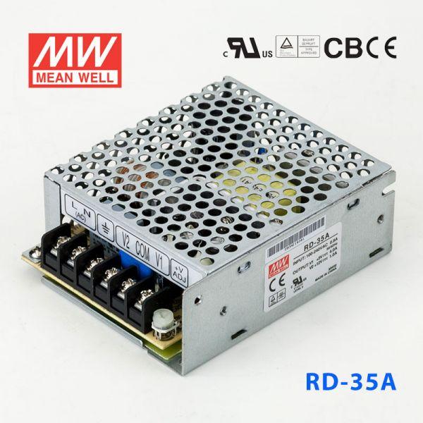 明纬开关电源RD-35A 35W +5V 4A +