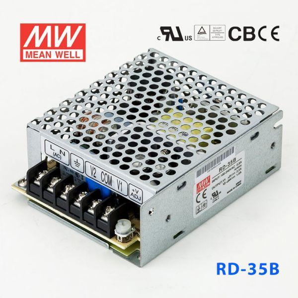明纬开关电源RD-35B 35W +5V 4A +