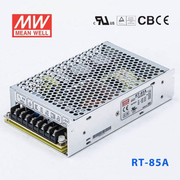 明纬电源RT-85A 85W +5V10A +12V5A