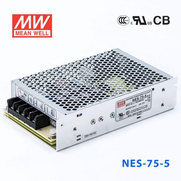NES-75 75W 5/12/15/24/48V单路输出