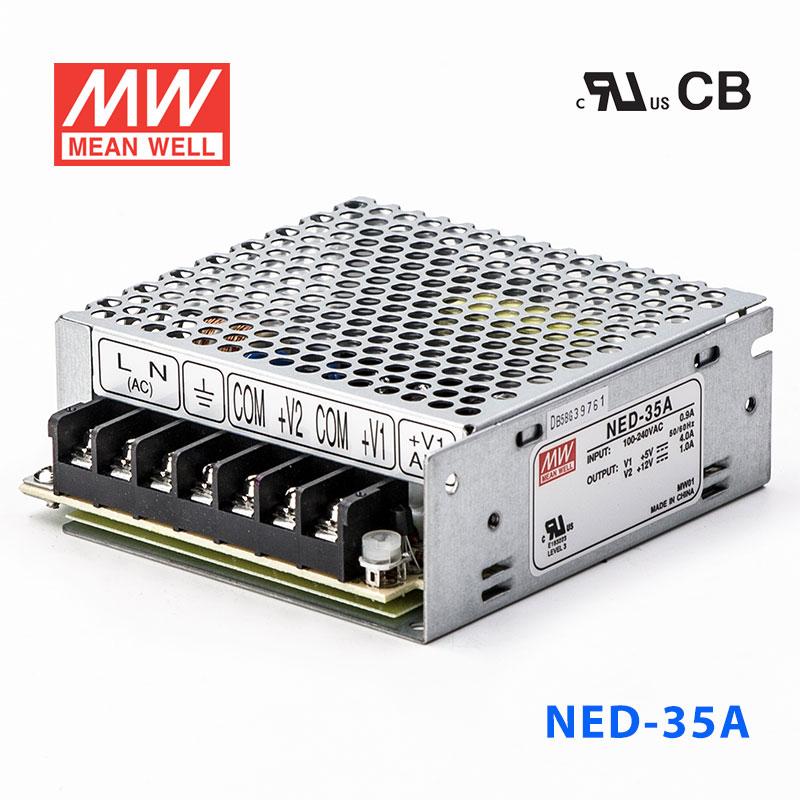 NED-35A 35W 5V 5A + 12V 1.5A 双路输出
