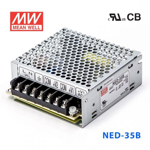 NED-35B 35W 5V 4A + 24V 1.3A 双路输出