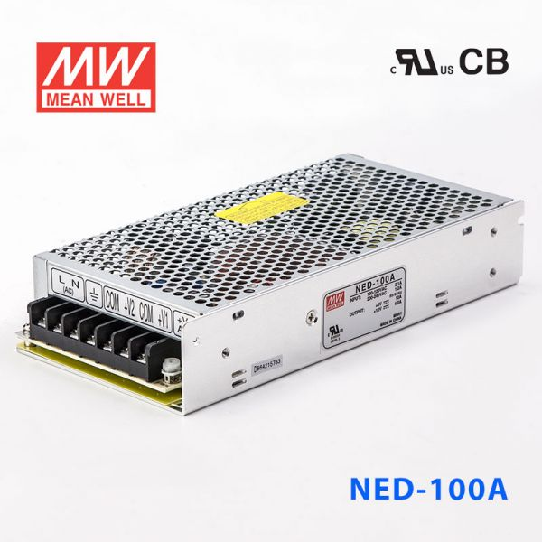 NED-100 100W 5/12/14V 双路输出明纬