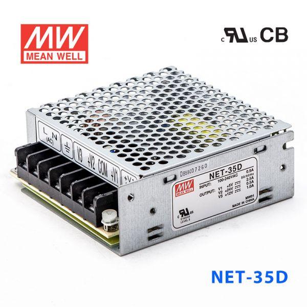 NET-35 A/B/C/D 35W +5V/12V/15V/24V三路