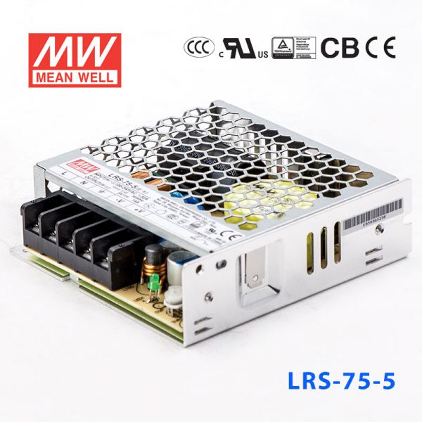 LRS-75-5/12/15/24/36/48 70W单路输出