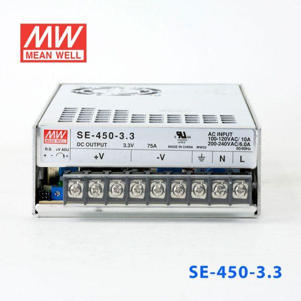 SE-450-3.3/5/12 450W单路输出大功率