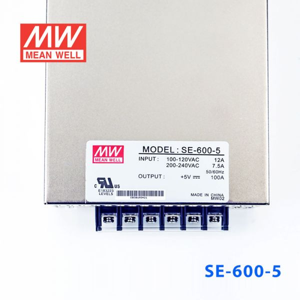 SE-600-5/12/15/24 600W单路输出大功