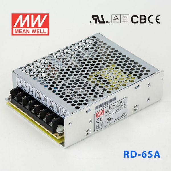 明纬开关电源RD-65A 65W +5V 8A +