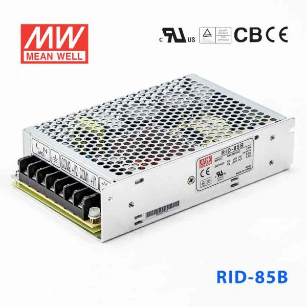 明纬开关电源RID-85B 85W +5V 10A