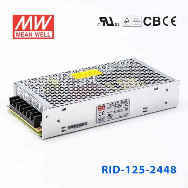 明纬电源RID-125-2448 125W+24V4A +
