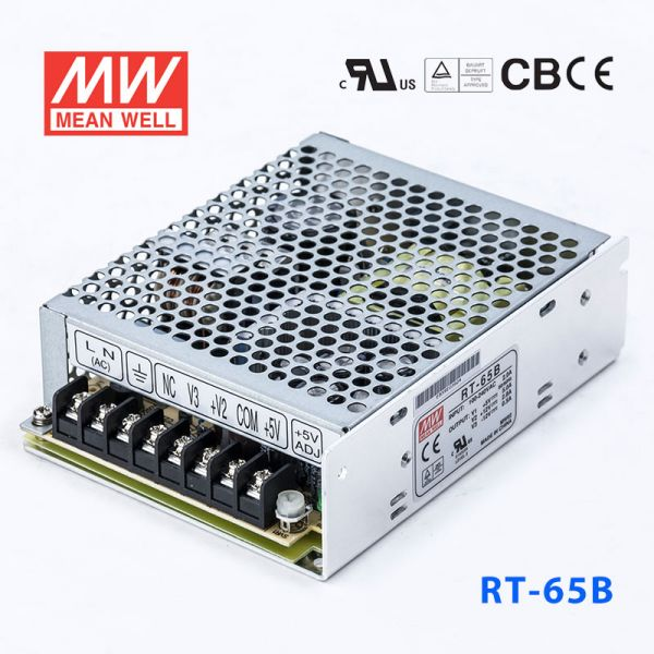 明纬电源RT-65B 65W +5V8A +12V3.5A