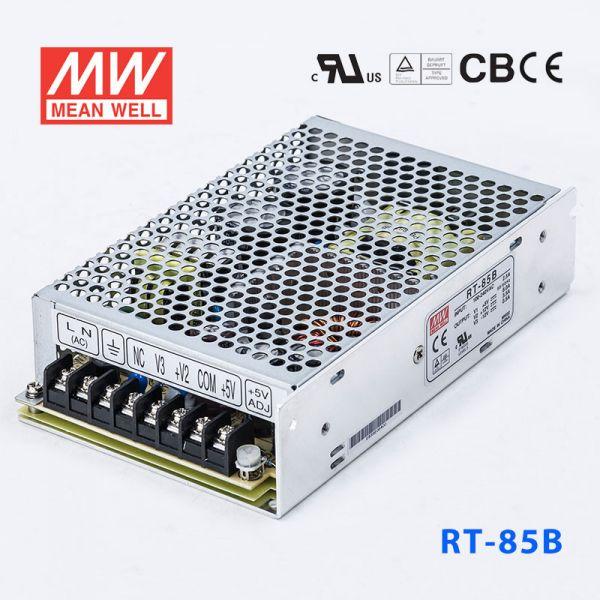 明纬电源RT-85B 85W +5V4A +12V4A -