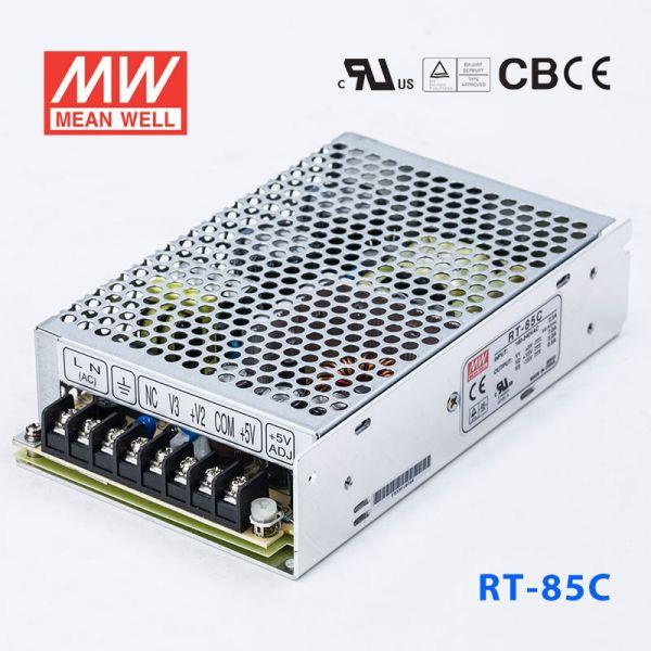 明纬电源RT-85C 85W +5V10A +15V4A