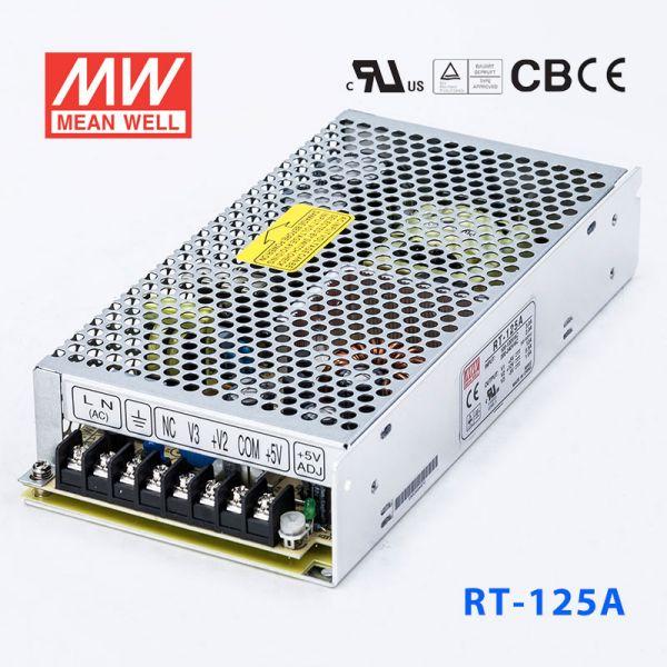 RT-125A 125W +5V 15A +12V 6A -5V 1A 三
