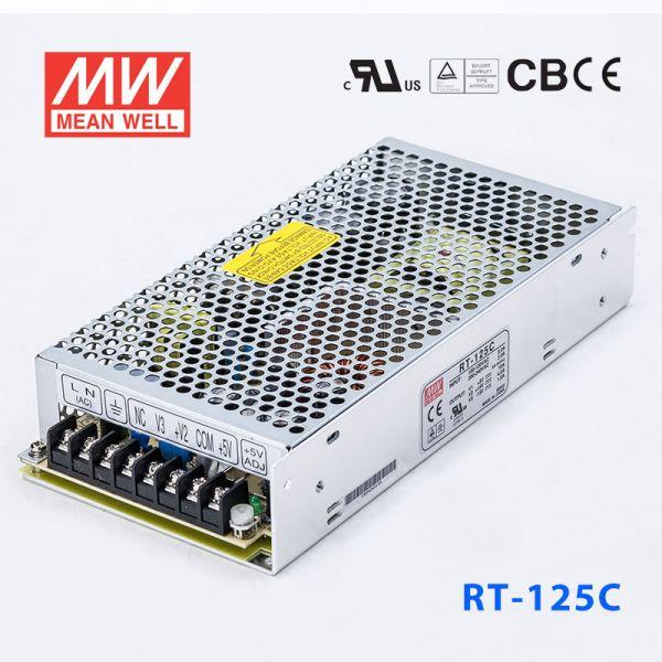 RT-125C 125W +5V10A +15V6A -15V1A三路