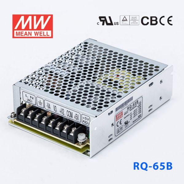 RQ-65B 65W +5V8A +12V3A -5V1A -12V1A四